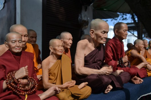 Extremely realistic looking monks