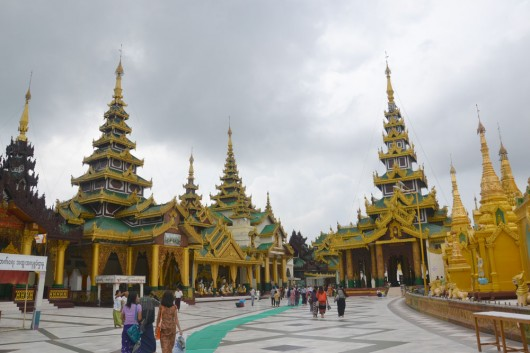 Shwedagon Paya, Disneyland for Buddhists...