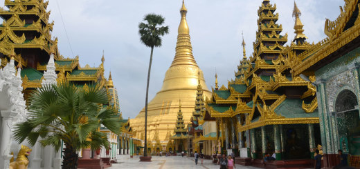 Main stupa of Shwedagon Paya in all it's glory