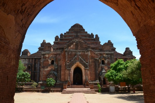 One impressive temple after the other in Bagan