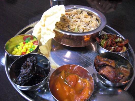 Indian set meal