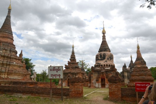 Old payas are spread all over Mandalay and surroundings