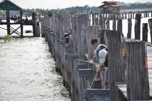 U Bein's Bridge, world's longest teak bridge
