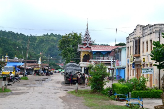 Small town of Kalaw