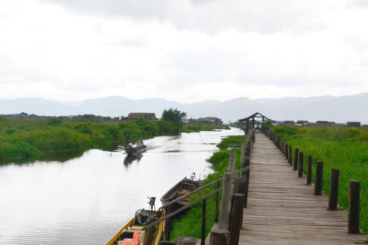 Inle lake - Nyaungshwe