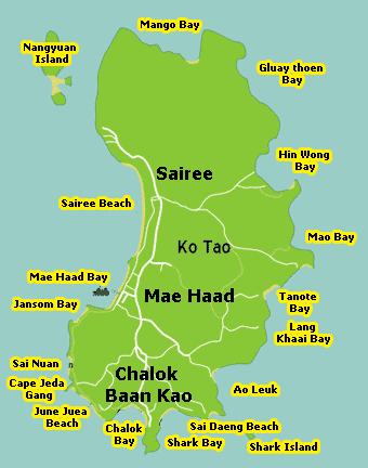 Koh Tao diving spots