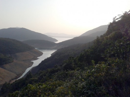 View on the way back to Sai Wan Village