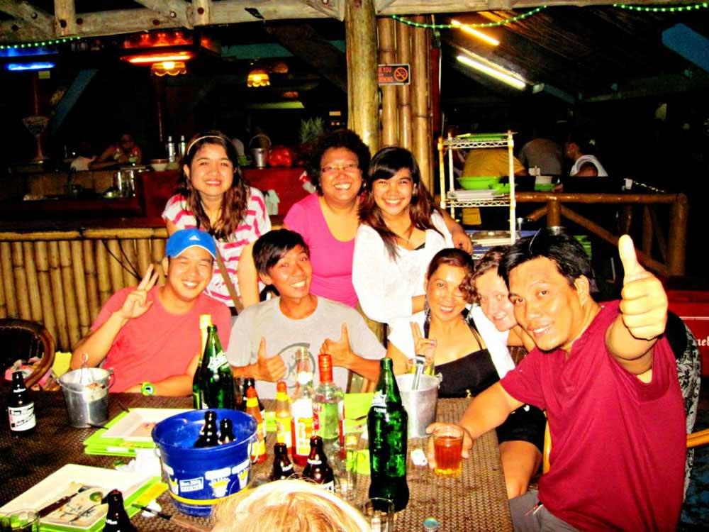 Some of the CS Davao hardcore members