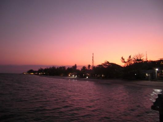 Sunset on Gili Trawagan