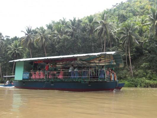 Restaurant/Karoake tourist boat on the river