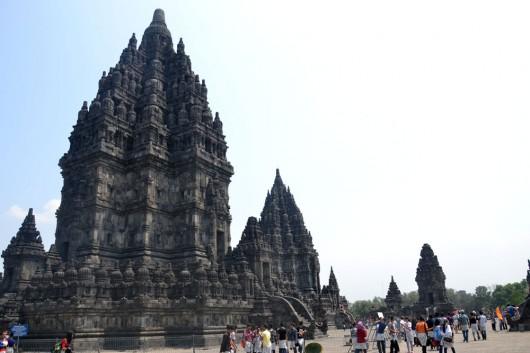 Shiva temple in Prambanan