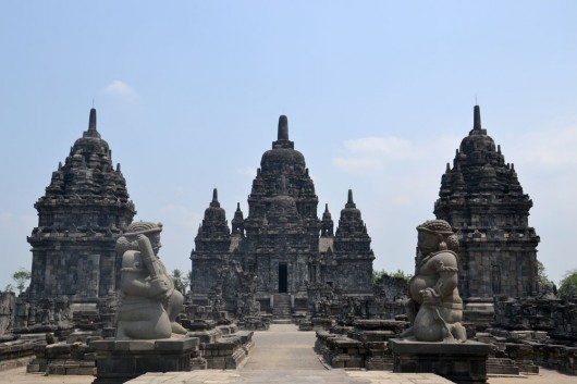 Another temple in the Prambanan temple complex