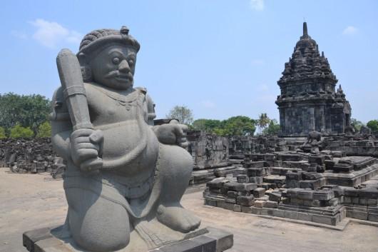 Cool statue in Prambanan