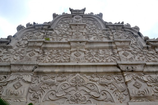 Detail of the entrance of Water Palace