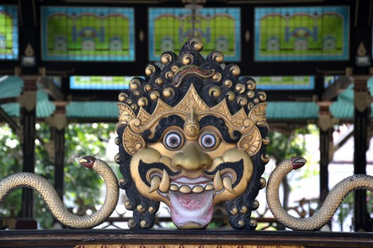 Detail in the Kraton palace