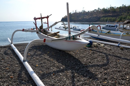 Fishing boat in Amed