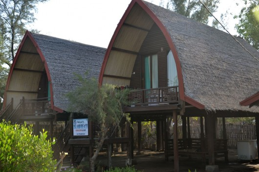 Lovely resorts on Gili Trawagan