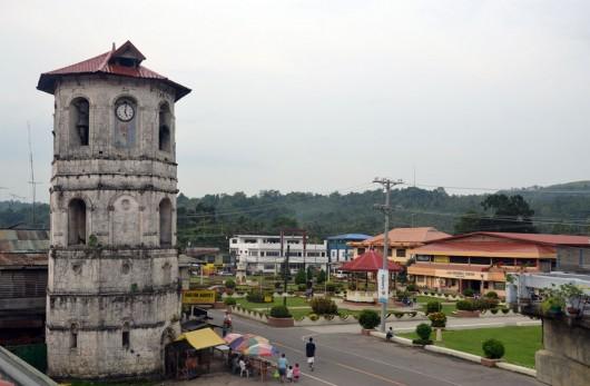 Loboc town