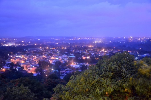 View over Davao City from Jack's Ridge