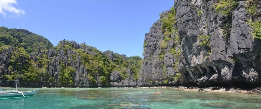 One of the amazing lagoons in El Nido