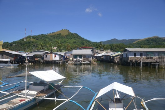 Coron, small fisherman village but excellent for wreck diving