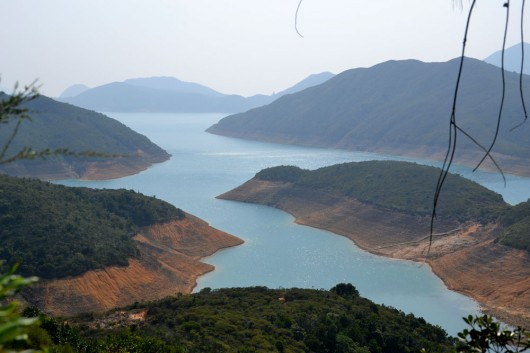 View on the way to Sai Wan village