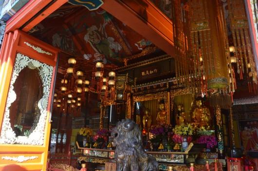 Inside Po Lin Monastery