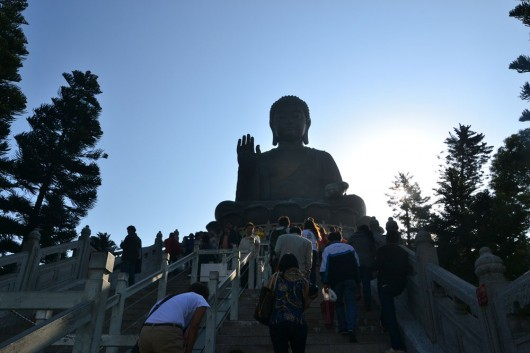 Enormous Bronze Buddha statue