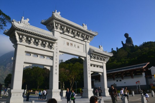 Entrance to Tian Tan Buddha
