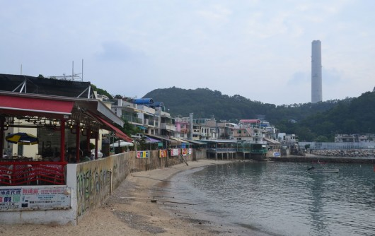 Lamma Island shore front