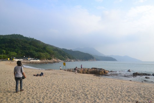 Hung Shing Ye Beach on Lamma Island
