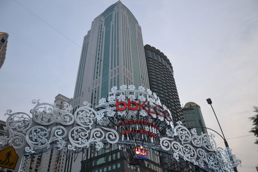 Thé shopping district to be: Bukit Bintang in Golden Triangle