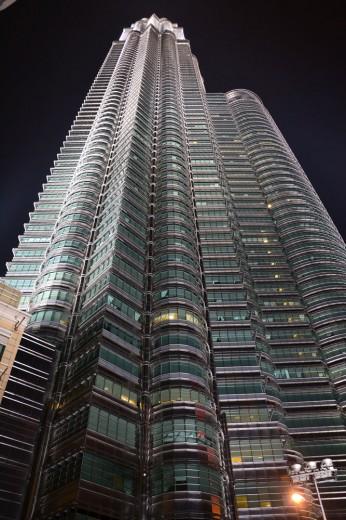 Petronas towers.... really... really.. tall.... really...