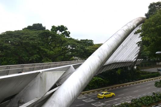 Alexandra Arch bridge in Southern Ridges