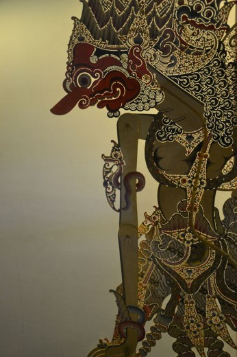 Details of shadow puppet