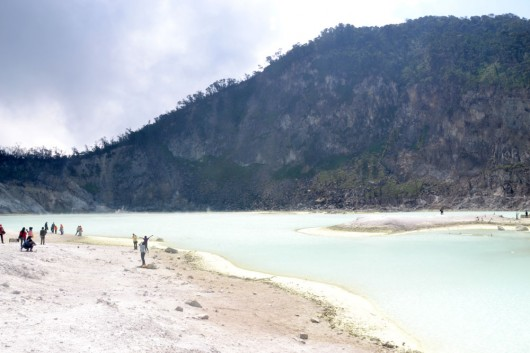 Kawah Putih - White crater in Bandung