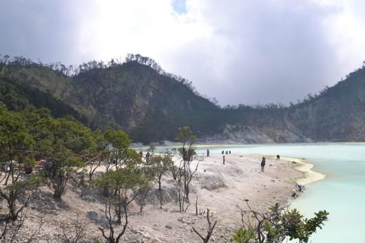 White crater - Kawah Putih in Bandung