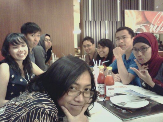Hanging out with CS Jakarta - Indonesia