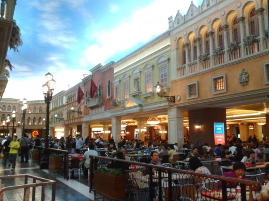 The Venetian foodcourt