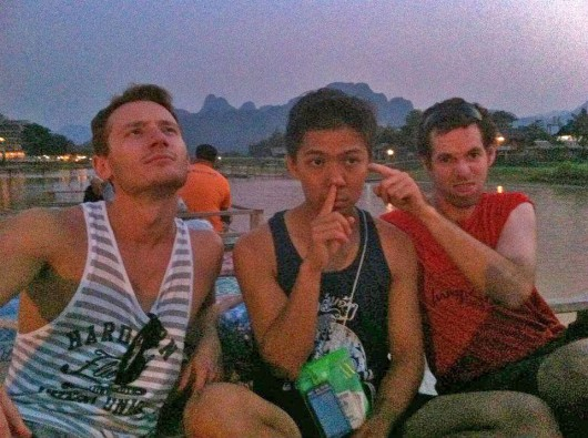 Shenanigans in Vang Vieng - Laos