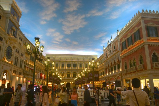 Interior of The Venetian