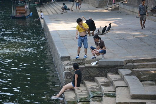 THIS IS CHINA! Where you can poop everywhere