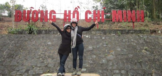 We are ON the Ho Chi Minh Trail !