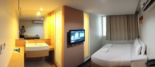 Nantra hotel Bangkok - bedroom