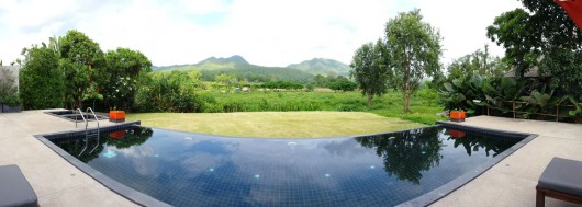 Yoma hotel - pool with a view