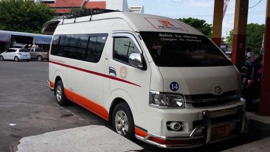 Airconditioned mini van