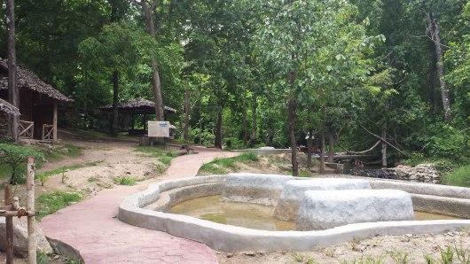 Hot springs at Pai