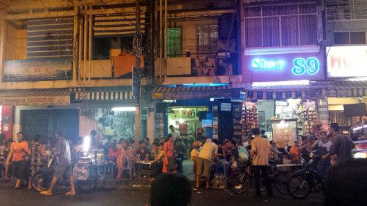 Hanoi street stalls