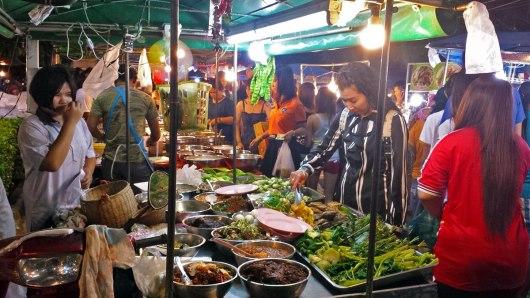 Asian Backpacker - Phuket night bazaar
