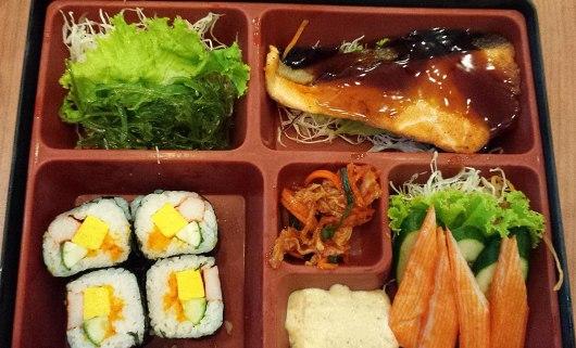 Asian backpacker - Pattaya Japanese food